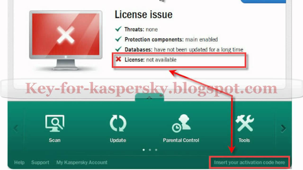 Free License Keys for Kaspersky Internet Security 2012