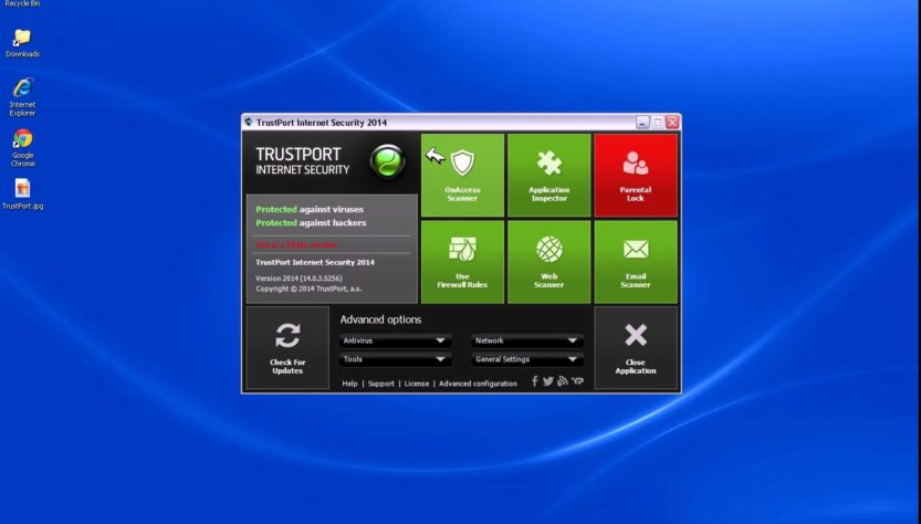 TrustPort Total Protection 2017 License Key