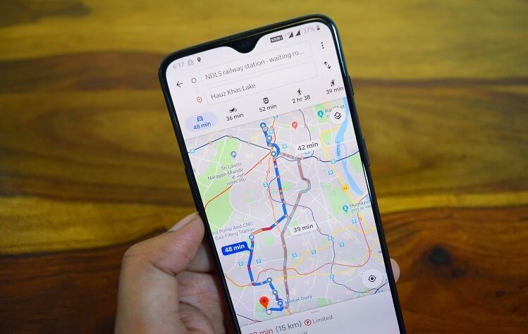 Map Feature Improves a Smartphone Application